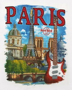 Hard-Rock-Cafe-PARIS-2016-City-Tee-White-T-SHIRT-2X-XXL-Men-039-s-New-with-Tags-V16