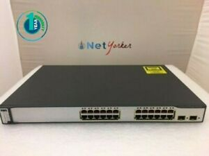 Cisco-WS-C3750-24PS-S-24-Port-10-100-PoE-Ethernet-Switch-SAMEDAYFASTSHIPPING