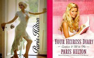Paris-Hilton-Perfume-1-Promo-Your-Heiress-Diary-2005-MT-Movie-TV-Photo-Book