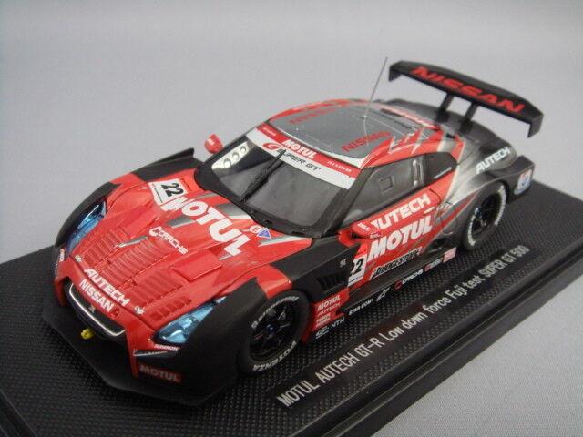 Ebbro 1 43 Motul Autech GT-R Low Down Force Fuji Test Car Super GT500 2008