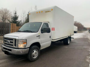 2016 Ford E 450 16 Ft Box With Ramp 58000Km 25500$ OBO