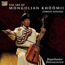 Davaasuren / Baasank - Art of Mongolian Khoomii (Throat Singing) [New CD]