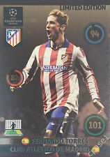 Fernando Torres Limited Edition Panini Adrenalyn Champions League 2014/15 UPDATE