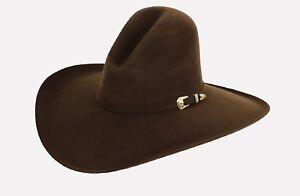 GUS ~ Dark BROWN ~3X Wool Felt HAT~ 4.5
