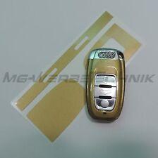 3A_arredamento chiave Adesivo per Audi A4 A5 A6 Q5 oro metallizzato brillante