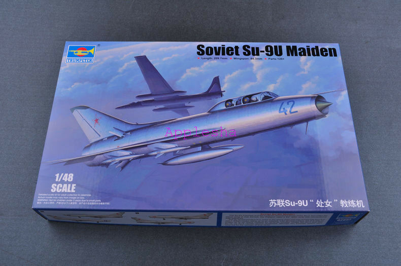 Trumpeter 02897 1 48 Soviet Su-9U Maiden
