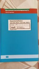 Reparaturleitfaden Werkstatthandbuch Instandhaltung Audi 100 200 Typ 44 C3 1983