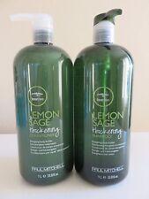Paul Mitchell TEA TREE LEMON SAGE Duo Shampoo & Conditioner 33.8 oz Set