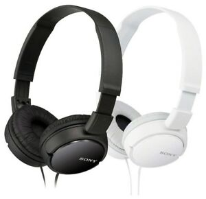 Sony-MDR-ZX110-Stereo-Over-Head-Headphone-Extra-Bass-Black-amp-White-Colors