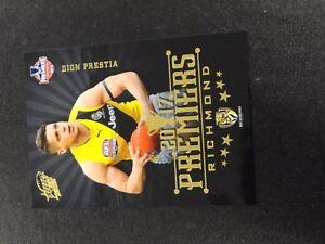 2017-AFL-SELECT-RICHMOND-PREMIERSHIP-CARD-PC4-DION-PRESTIA