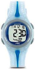 NEW Fila Unisex Digital Renake Dual Time Chronograph Blue Watch 337-01