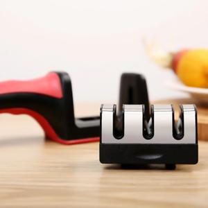 Aiguiseur Couteau Affutage Cuisines Professionnel 3 en 1 Antiderapante Affuteur