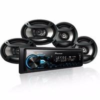 Pioneer Mxt-x3869bt Mp3/usb Digital Player + 6.5 & 6 X 9 Speakers Combo on sale
