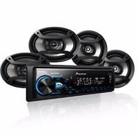 Pioneer Mxt-x3869bt Mp3/usb Digital Player + 6.5 & 6 X 9 Speakers Combo on sale