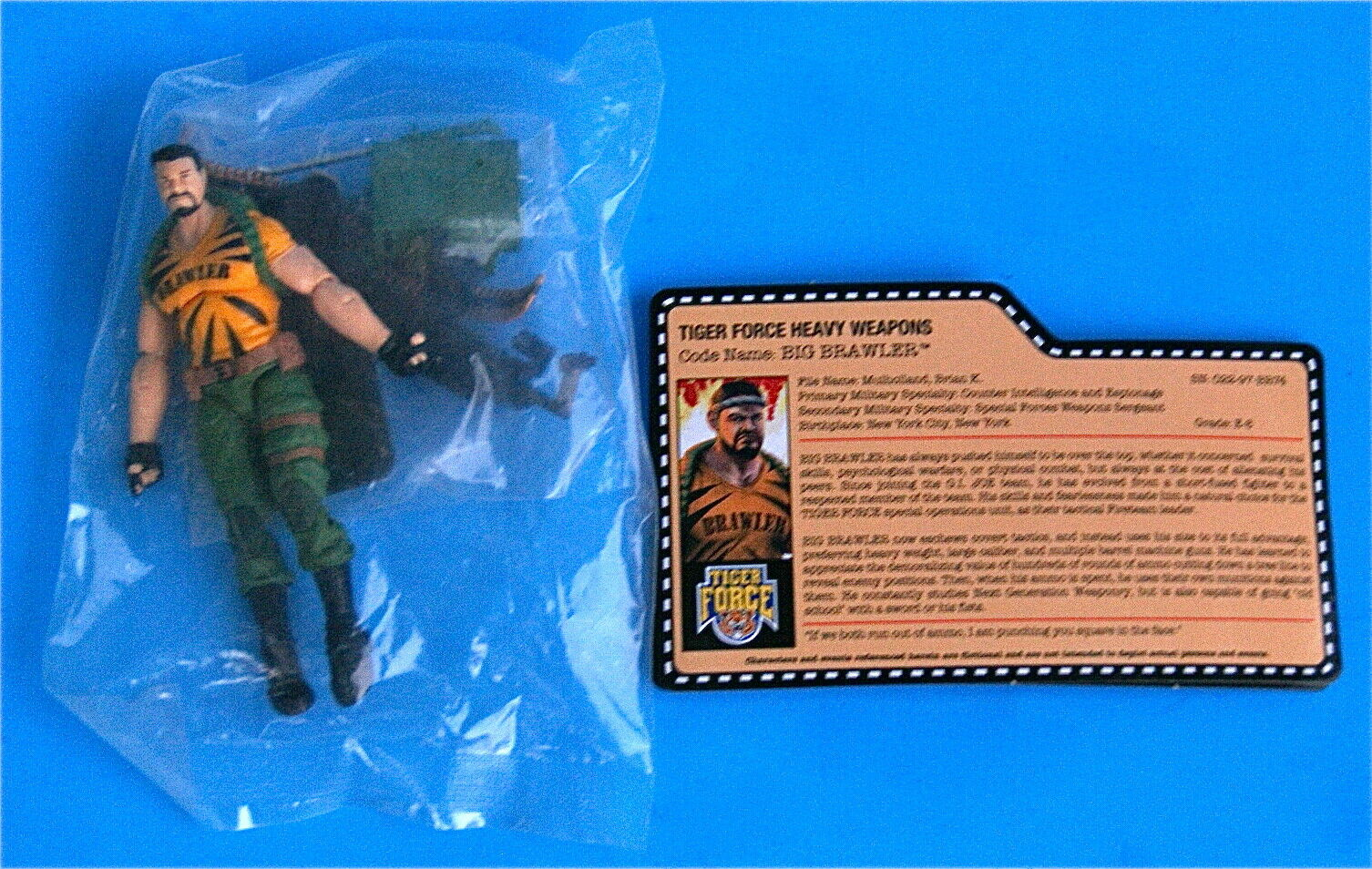 GI JOE TIGER FORCE BRAWLER JOECON SEALED borsa completare