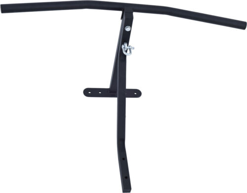 4Fit™ Chin Pull Up Bar with Punch Bag Bracket Wall Mounted Gym Chinning Workout