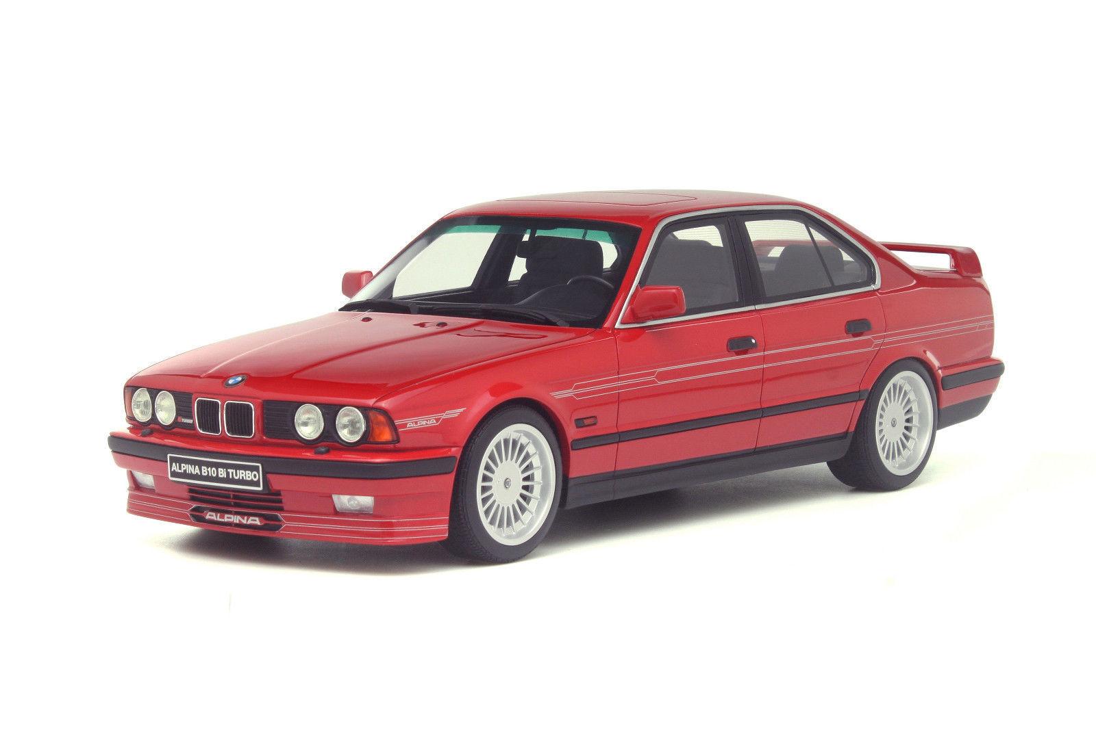 muchas sorpresas Otto Mobile BMW ALPINA ALPINA ALPINA E34 B10 Biturbo Brillante Rojo 1 18 artículo 2000 un.New Edición Limitada   Disfruta de un 50% de descuento.
