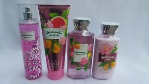 BATH-amp-BODY-WORKS-WATERMELON-LEMONADE-MIST-CREAM-SHOWER-GEL-LOTION-You-Choose