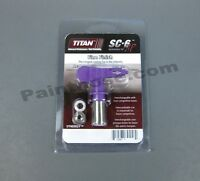 Titan SC-6 Airless Paint Spray Tip Fine Finish 210 214 310 410 412 414 512 Tools and Accessories