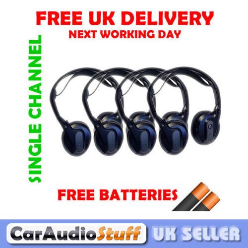 Land Rover Range Rover Compatible único canal auriculares infrarrojos Nuevo 4 Pares