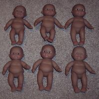 6 Berenguer Doll Lots To Love Babies 5 Aa Ethnic Chubby Dolls Nude No Box