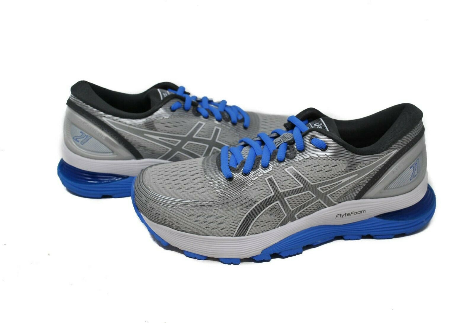 Asics Women's Gel-Nimbus 21 in Mid Grey Dark Grey Sz 6-9 New