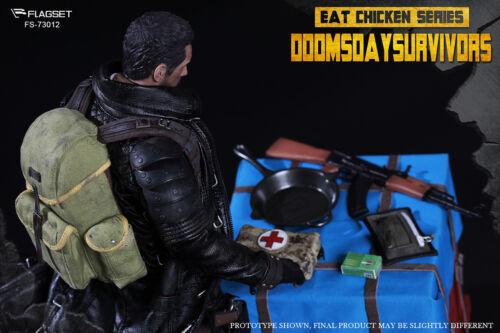IN STOCK FLAGSET FS-73012 Eat Chicken Series Doomsday Survivors 1//6 FIGURE