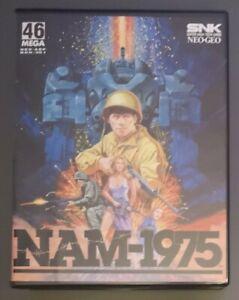 NAM 1975 Neo Geo AES US en boite complet avec notice