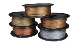 pla 3d Druck Filament 1.75mm 500g Alu Bronze Messing Kupfer Metall