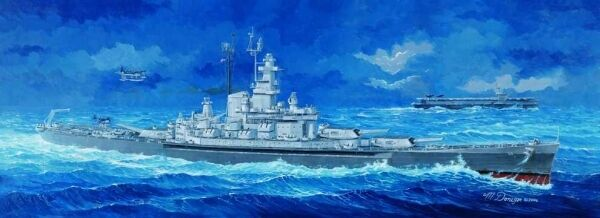 USS Massachusetts BB-59 Battleship 1 350 Plastic Model Kit TRUMPETER