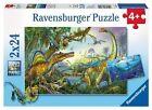 Ravensburger BRAND 2 X 24pc Puzzles - Prehistoric Giants