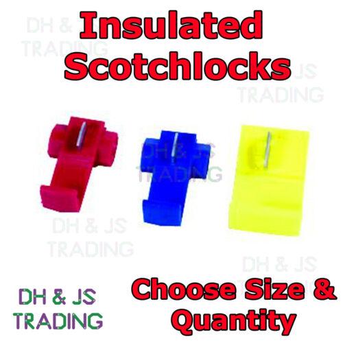 Scotchlocks-Scotchlok Conectores Cable Terminales Conector De Empalme Scotchloks