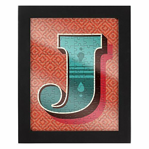 Ridley/'s Letter J Alphabet Collection Jigsaw Puzzle includes Frame
