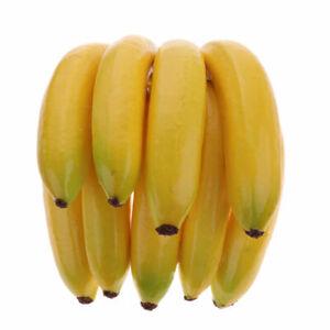 Lifelike-Plastic-Artificial-Fake-Fruit-Banana-Foam-Craft-Home-Market-Party-Decor