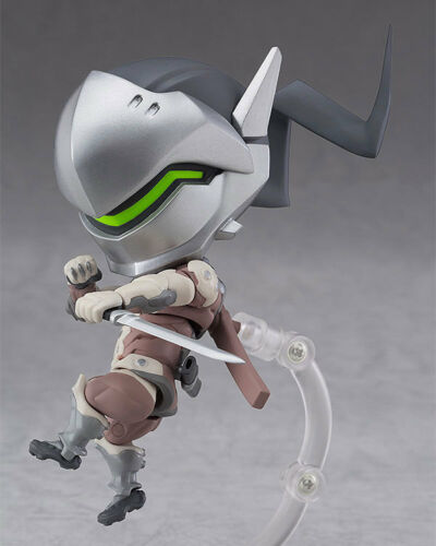 NEW AND SEALED BLIZZARD OVERWATCH GENJI CLASSIC SKIN EDITION NENDOROID FIGURE