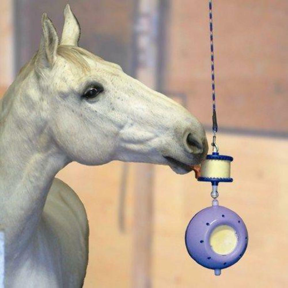 LIKIT BOREDOM BREAKER HORSE TREAT LIKIT EQUESTRIAN TOYS HELPS STOP STABLE VICES