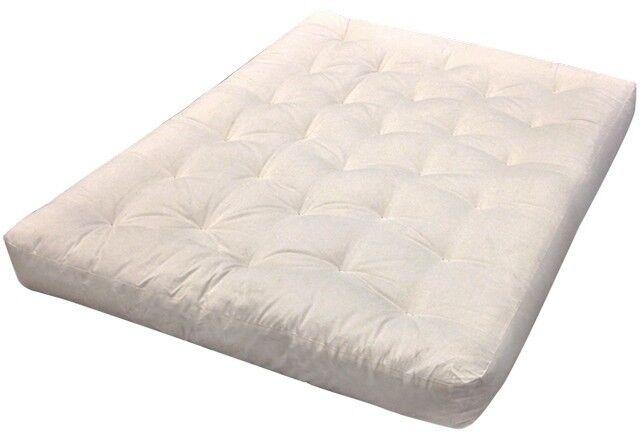 Cotton Futon Mattress Natural