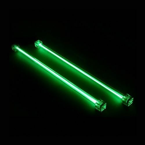 Revoltec 12  (30cm) DUAL CCFL (catodo freddo) 12V VERDE KIT, Pc Lighting
