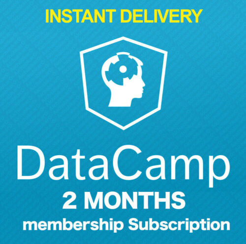 DataCamp 2 Months Membership Personal No Shared Full Access All Courses INSTANT
