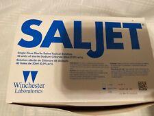 Saljet Single Dose Sterile Saline Tropixal Solution 37 Pcs