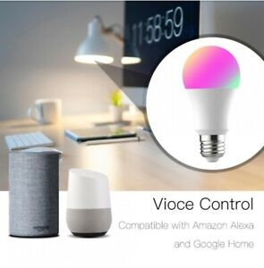 WOOX-R4553-Smart-LED-Lampe-E27-8W-60W-2-4GHz-WiFi-Alexa-amp-Google-dimmbar