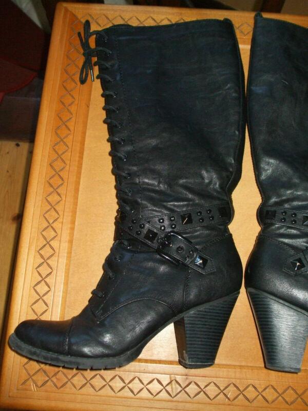Stiefel, Western, Boots Zum Schnüren Gr. 40