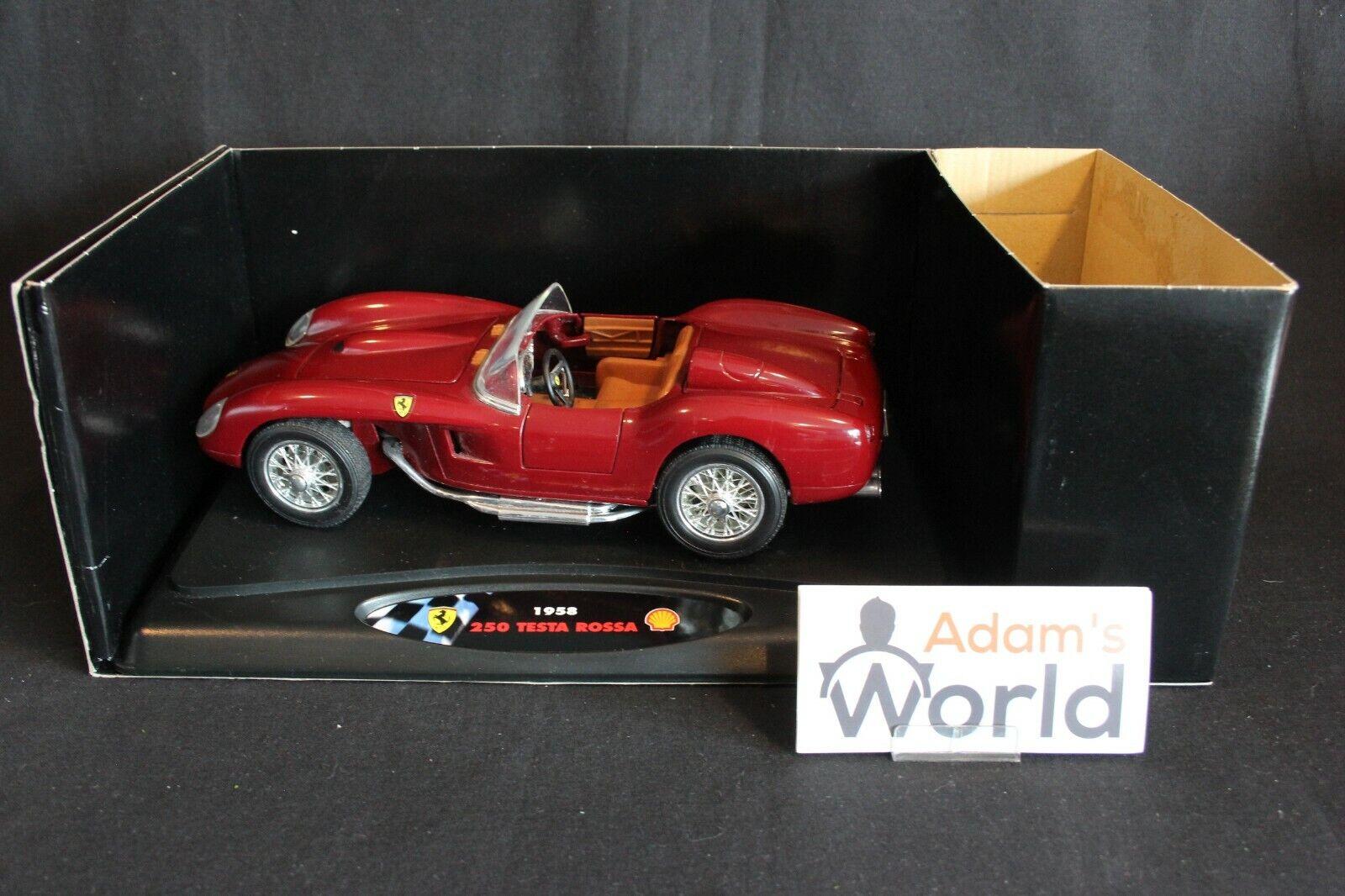 Shell Collezione Classico Ferrari 250 Testarossa 1 18 dark red (PJBB)