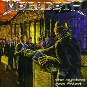 Megadeth-The-System-Has-Failed-CD