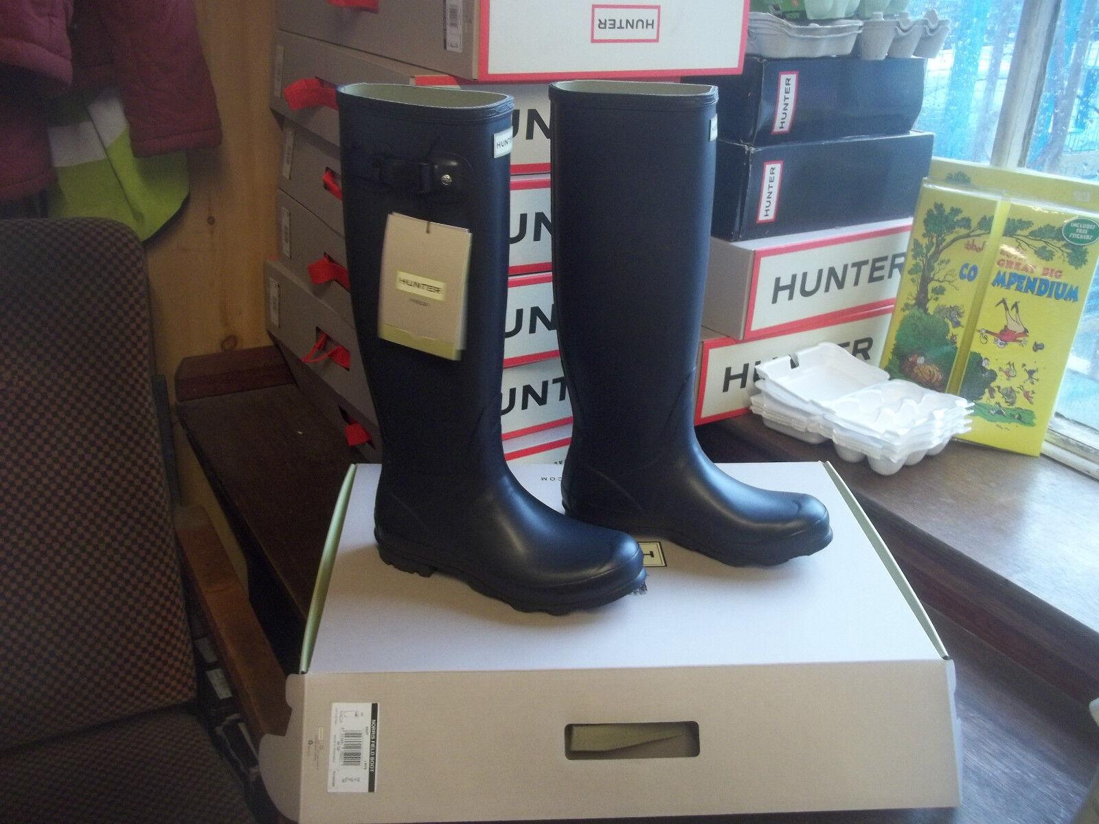 Navy blu Norris Hunter Stivali di gomma a Halifax Taglia 8 Donna Da Donna Alto. | Sulla Vendita  | Sig/Sig Ra Scarpa