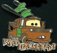 Dlr Tow Mater Who Backfired? Disney Pin 100125