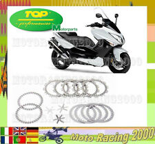 PER YAMAHA TMAX 4B5 500 2010 10 KIT DISCHI FRIZIONE COMPLET DI MOLLE RACING TOP