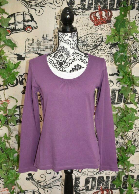 Neue Mode S.oliver Langarm Shirt Gr.40 Lila Top Zustand