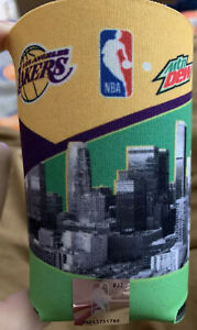 NBA-Los-Angeles-Lakers-Can-Bottle-Holder-Koozie-Coozie-Coozy-Kobe-Shaq-Lebron