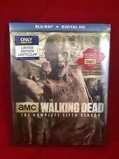 The Walking Dead Season 5 Blu-Ray Best Buy Exclusive w/ Lenticular Slipcover HTF